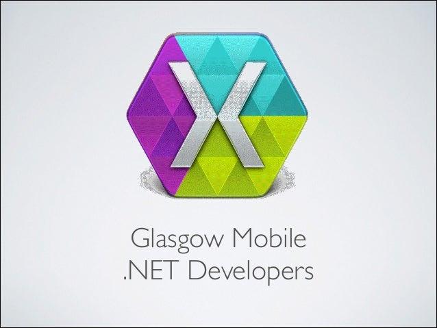 Glasgow Mobile  .NET Developers
