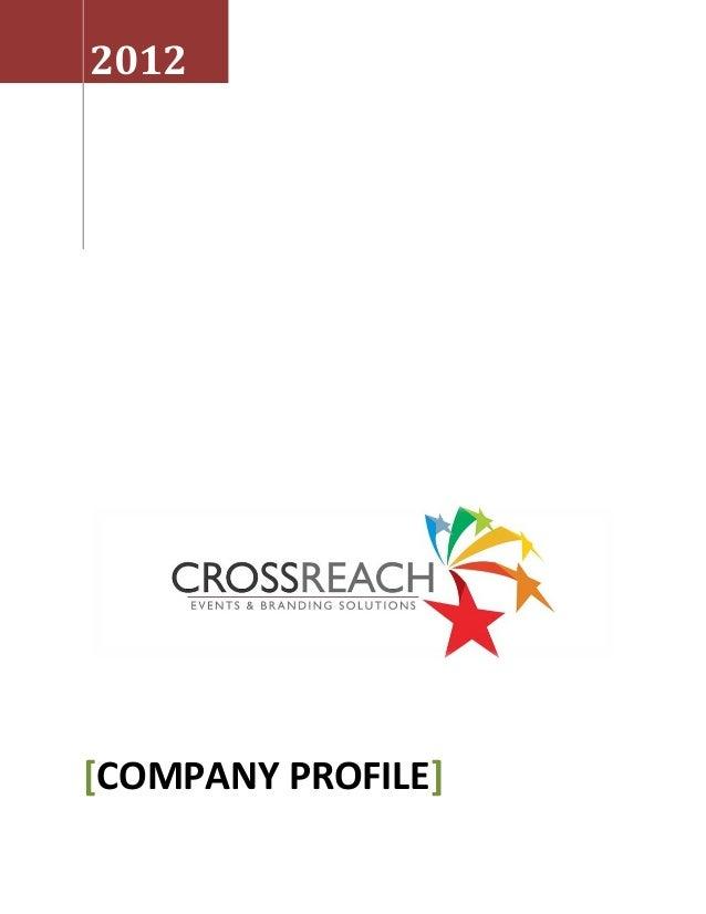 Crossreach  company profile