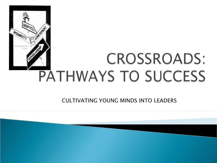 CULTIVATING YOUNG MINDS INTO LEADERS