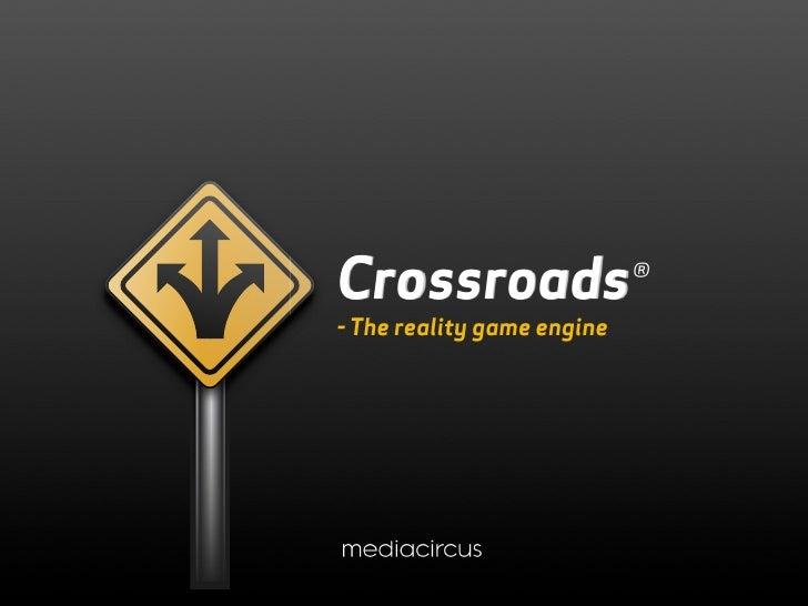 Crossroads Presentation