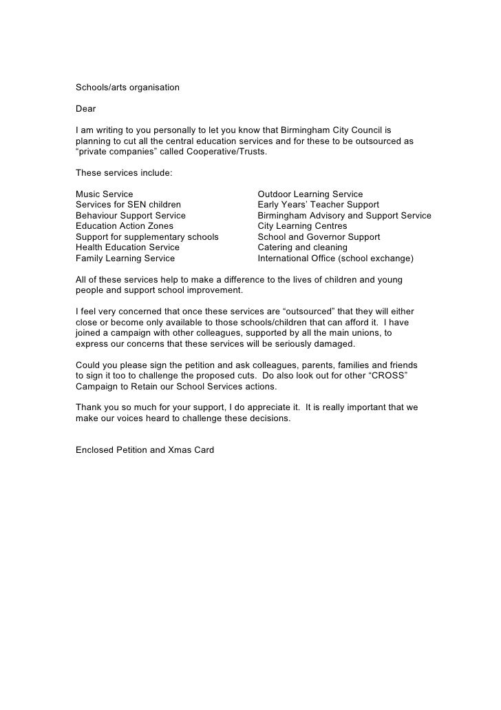 How To Write Letter About Bin To Council