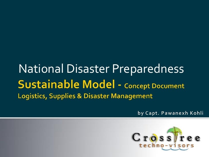National Disaster Preparedness