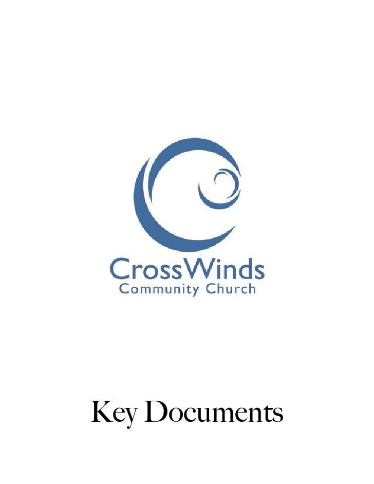 Crosswinds key docs
