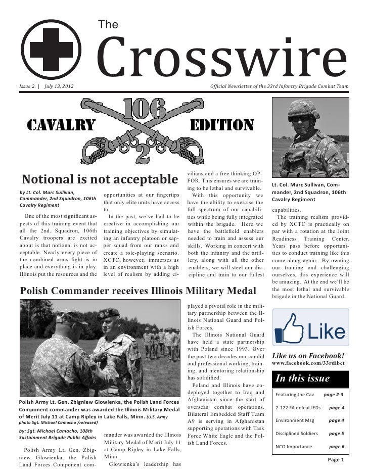 Crosswire                                        TheIssue 2 | July 13, 2012                                               ...