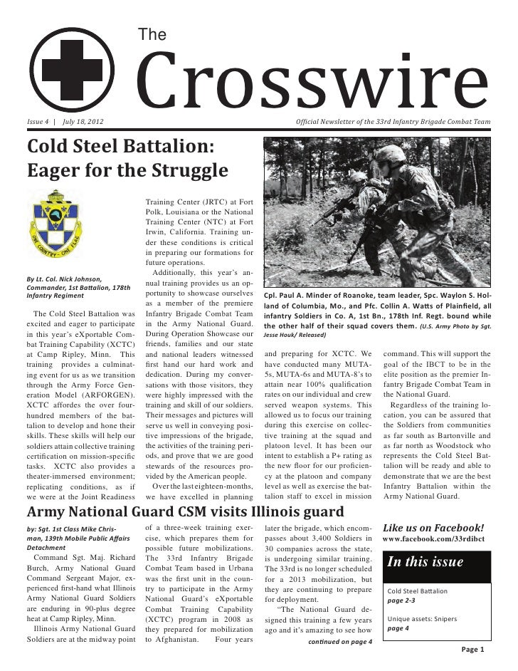 Crosswire                                      TheIssue 4 | July 18, 2012                                                 ...