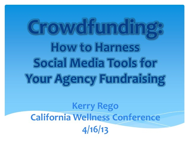 Crowdfunding: How to Harness Social Media Tools for Your Agency Fundraising