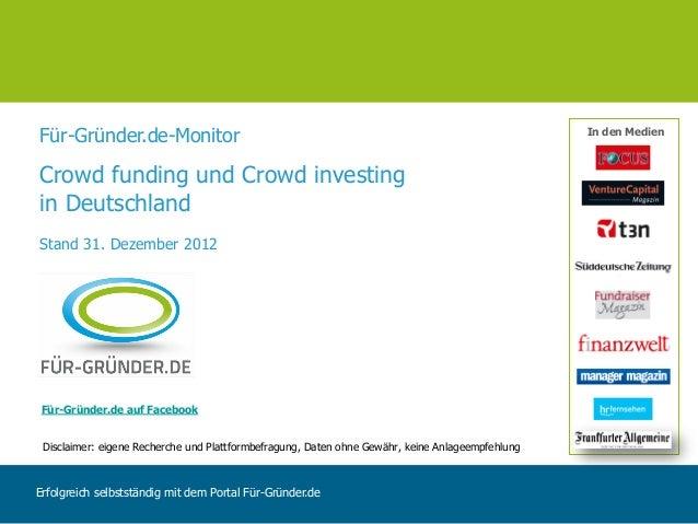 Für-Gründer.de-Monitor                                                                            In den MedienCrowd fundi...