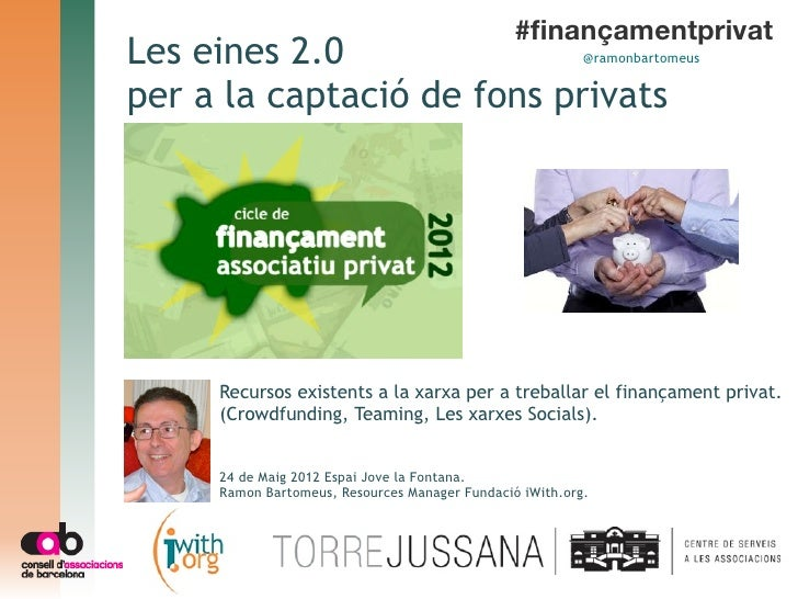 Les eines 2.0 per a la captació de fons privats