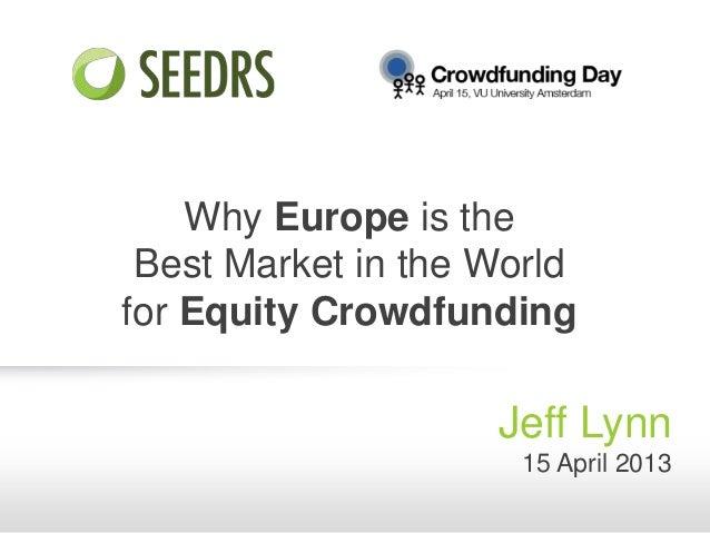 Crowdfunding Day - Jeff Lynn (Seedrs)