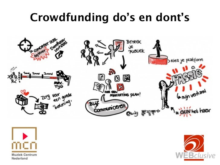 Crowdfunding campagne do's en dont's
