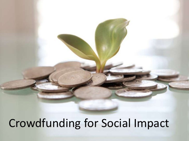 Crowdfunding for Social Impact