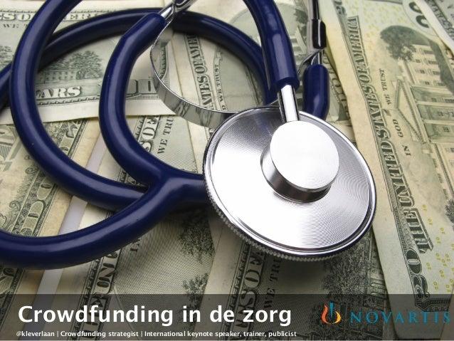 Crowdfunding in de Zorg - Novartis Patient Academy