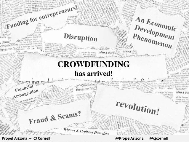Crowdfunding Overview (Propel Arizona) - for Eureka Loft Scottsdale Library