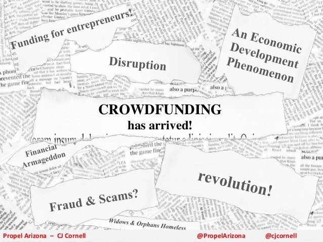 Practical Crowdfunding for Arizona Entrepreneurs - Fall 2013