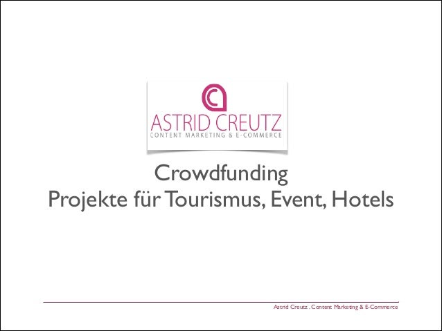 Crowdfunding Tourismus Hotel Events