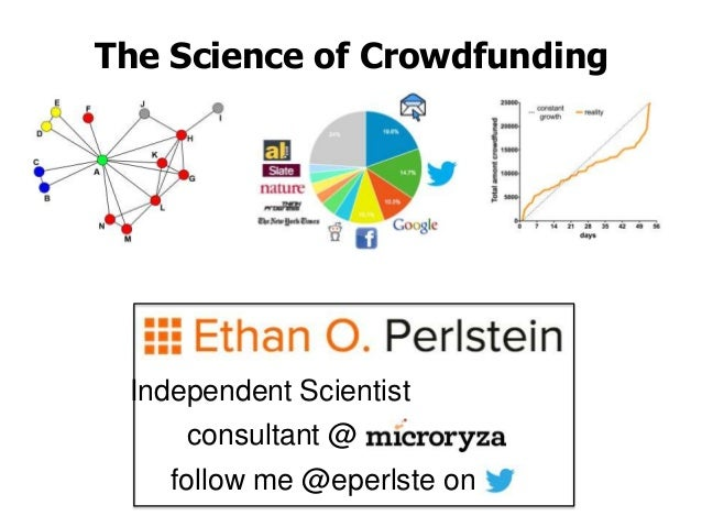 The Science of Crowdfunding (v1)