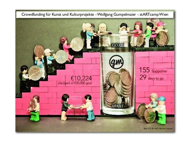 Bild: CC-BY-ND Michael Holzer Crowdfunding für Kunst und Kulturprojekte - Wolfgang Gumpelmaier - stARTcamp Wien