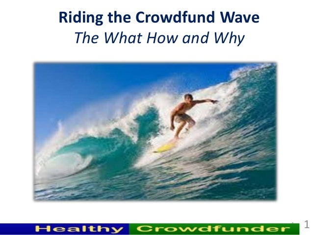 Riding the Crowdfund Wave  The What How and Why                            1   1