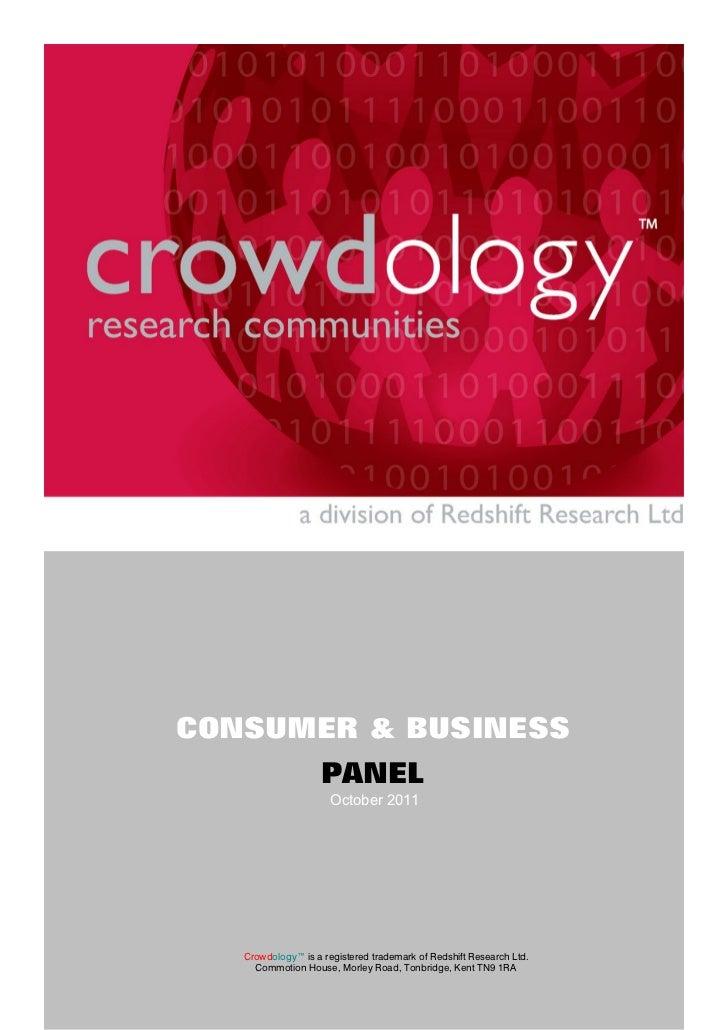 Crowdology Consumer Panelv2