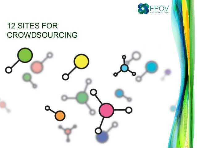 12 sites for Crowdsourcing