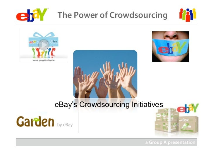 Crowdsourcing at eBay (Group A)