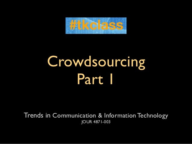 TKclass: Crowdsourcing tools