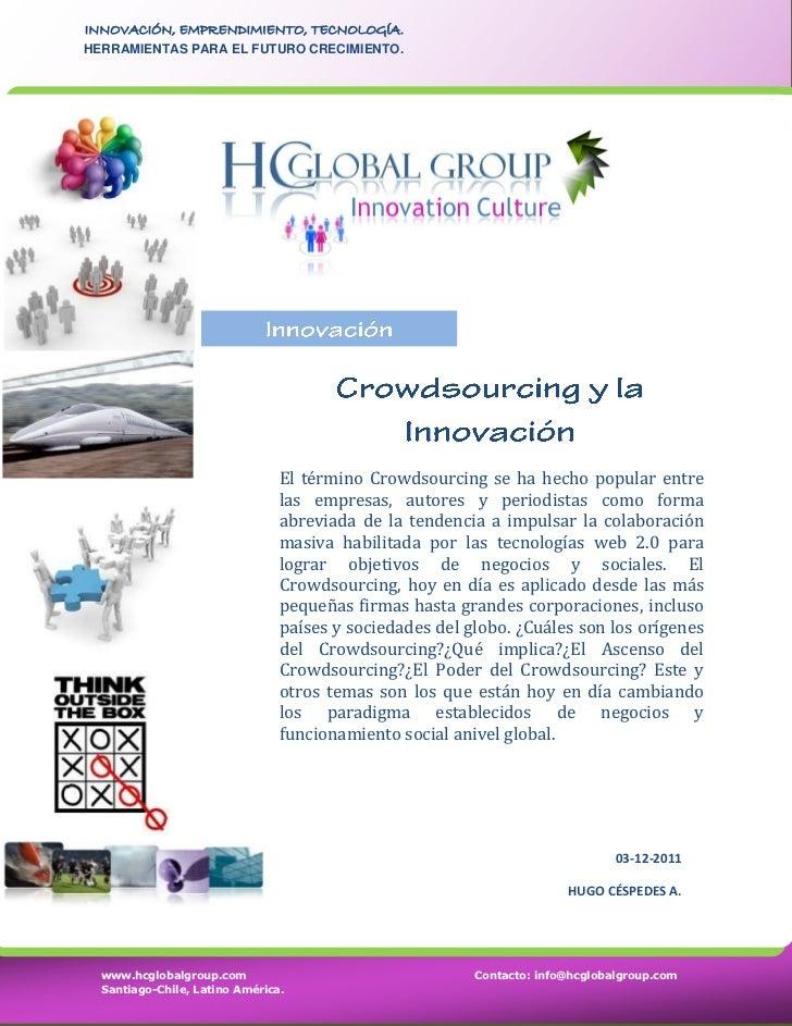 Crowdsourcing y la Innovación