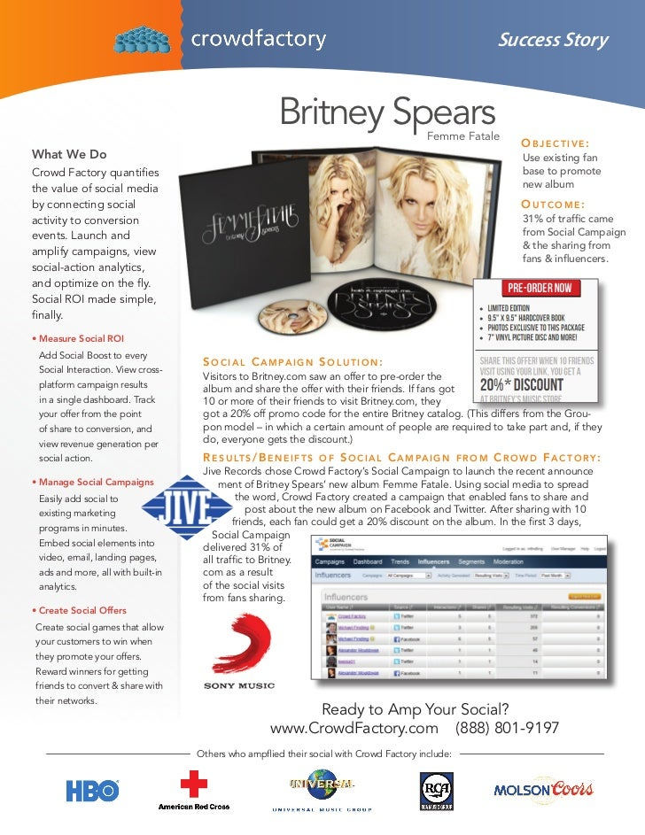 Success Story                                                      Britney Spears                     Femme Fatale        ...