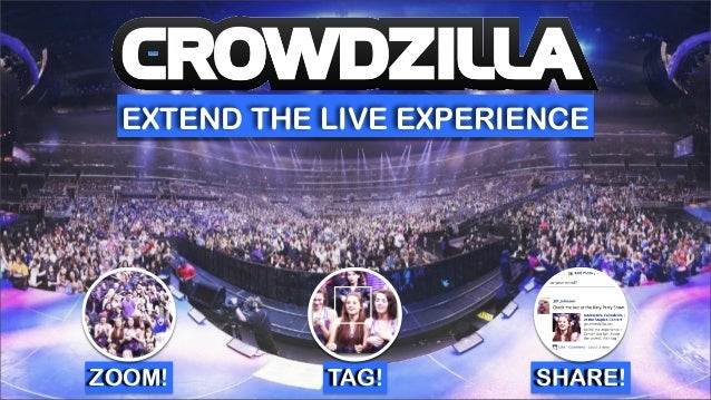 EXTEND THE LIVE EXPERIENCE ZOOM! TAG! SHARE!