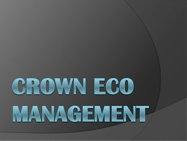 Crown capital eco management jakarta indonesia what we doour vision   youtube