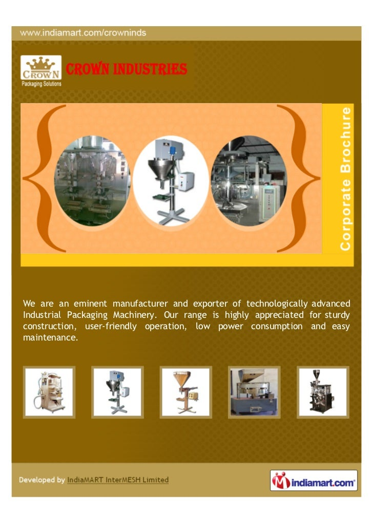 Crown Industries, Hyderabad, Oil Filling Machines