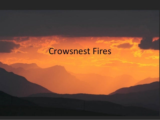 Crowsnest Fires