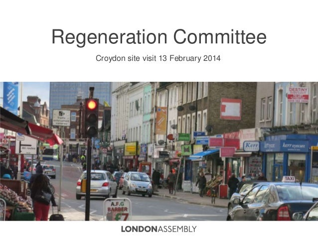 London Assembly examines Croydon's regeneration plans