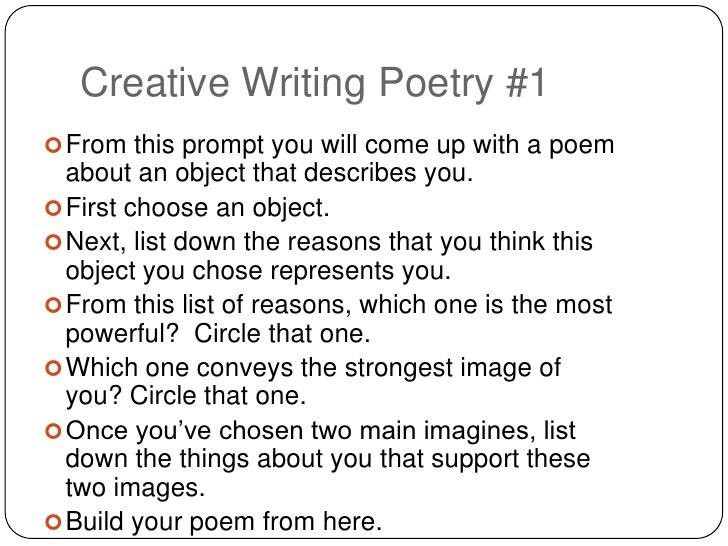 up creative writing