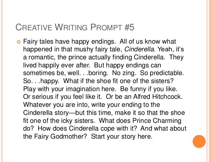 creative writing starters