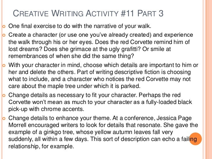 creativity essay writing Creative essay writing is all about combining imagination with experience write a story that has an interesting plot as well as a compelling path.