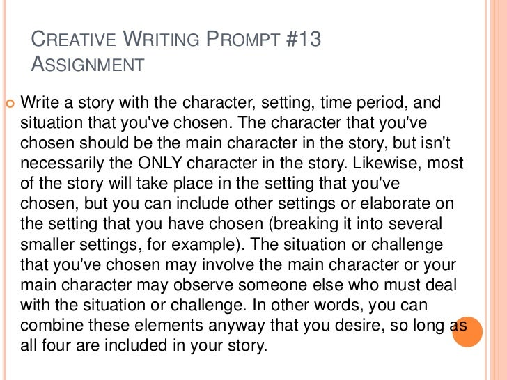 Creative Letter Writing