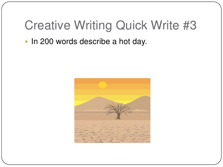 Topics For Creative Writing For Grade 3