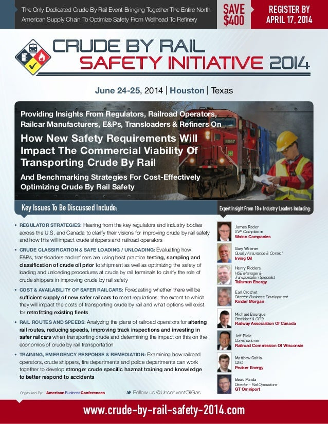 Crude By Rail Safety Initiative 2014