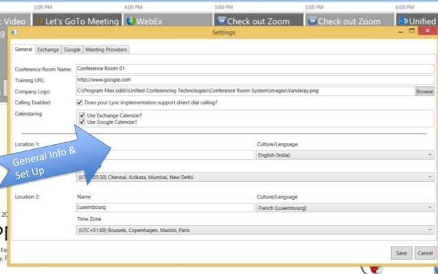 Crs lync meeting control software
