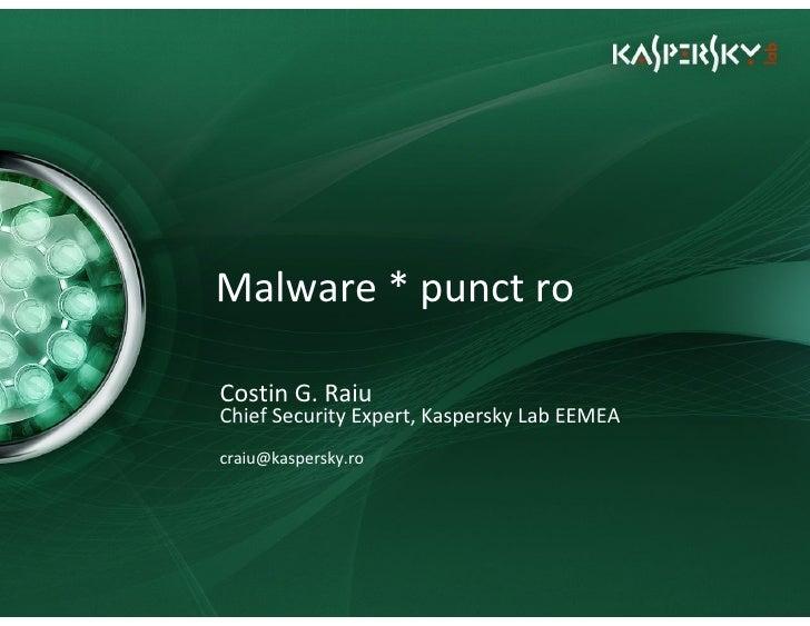 Malware * punct ro