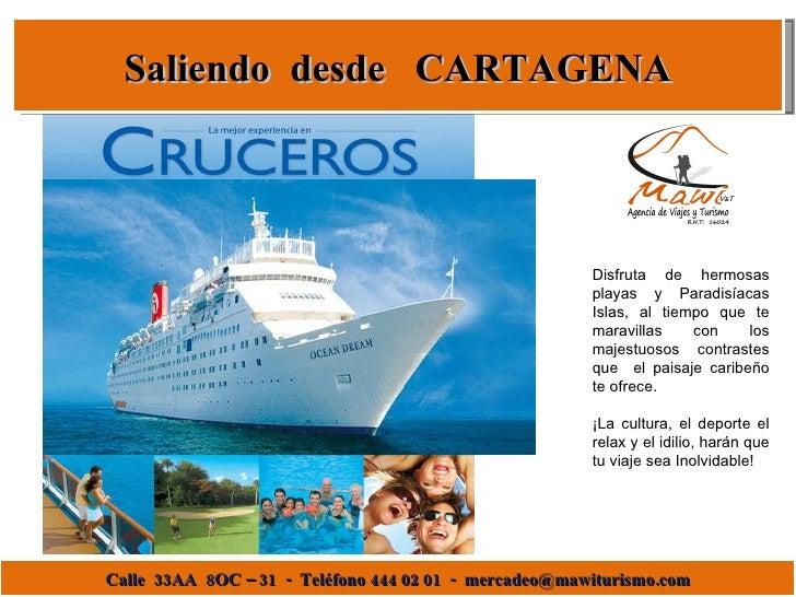 Crucero desde Cartagena
