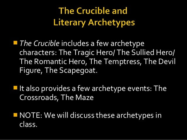the crucible thematic essay example
