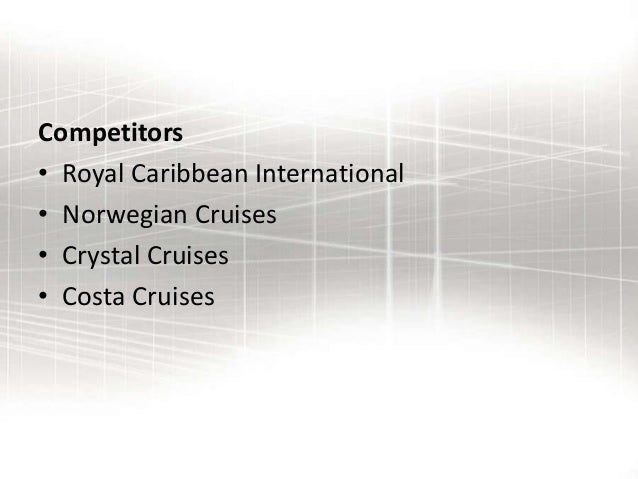 royal caribbean swot analysis And, in april 2003, carnival beat out royal caribbean to acquire p&o   anallysed accordin to the swot analysis (keller,kotler 2006 p52.