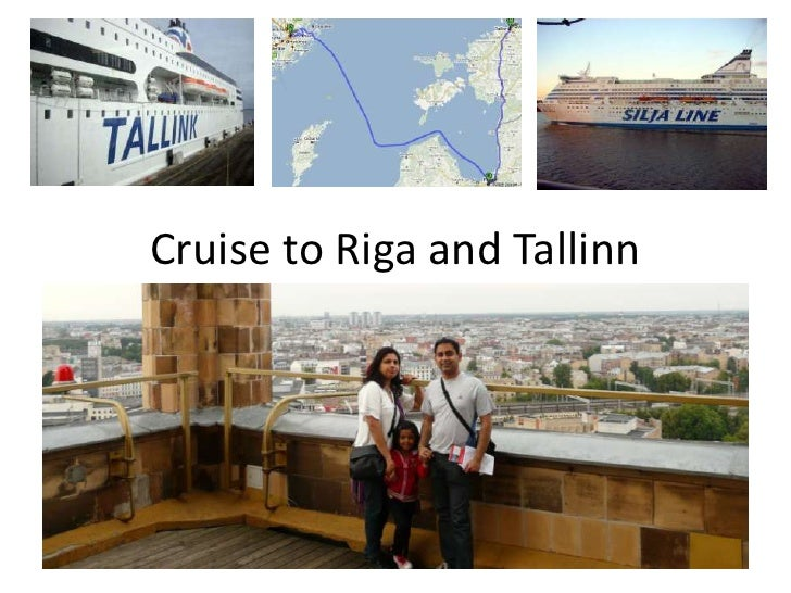 Cruise To Riga And Tallinn