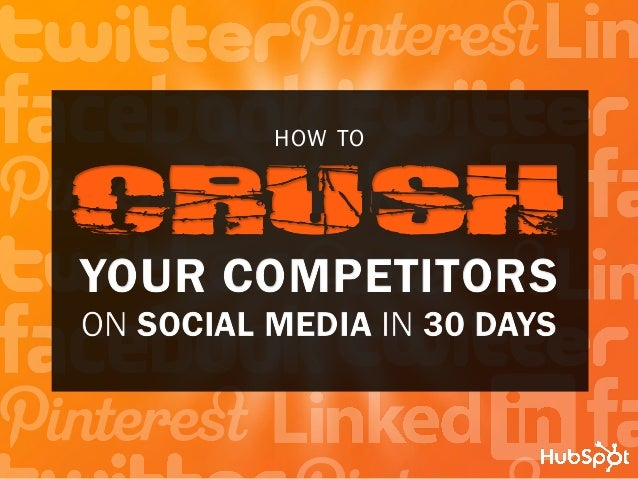 how to  Your Competitors on social media in 30 days