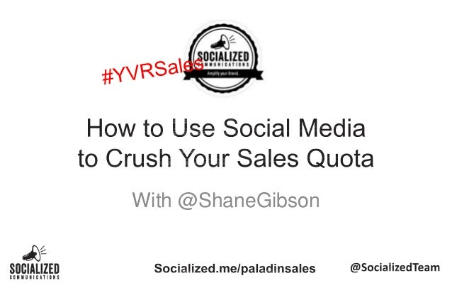 Paladin Security - Crush your Sales Quota with Social Media
