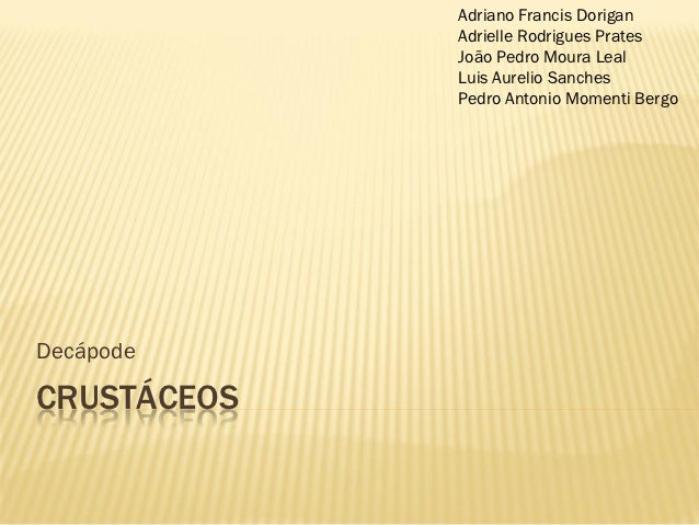 Adriano Francis Dorigan             Adrielle Rodrigues Prates             João Pedro Moura Leal             Luis Aurelio S...