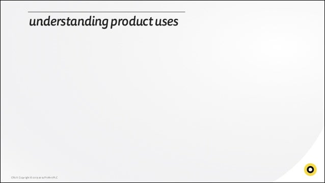 Understanding product uses
