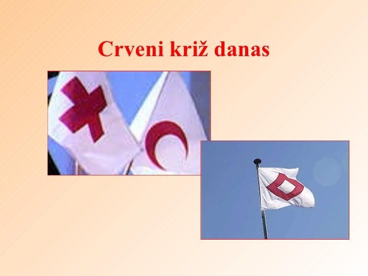 Crveni križ danas